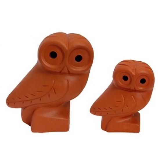 Duo Hibou - Ceramique - Nepal