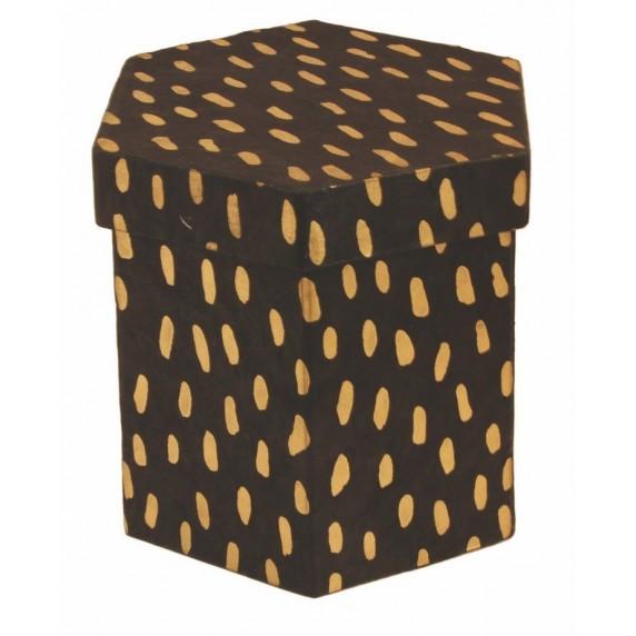 Boîte hexagonale Awashi