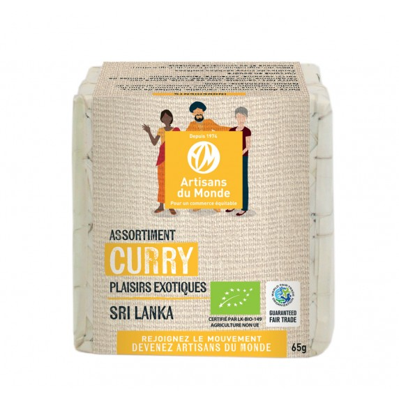 assortiment curry bio equitable