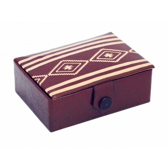 boite bijoux cuir equitable