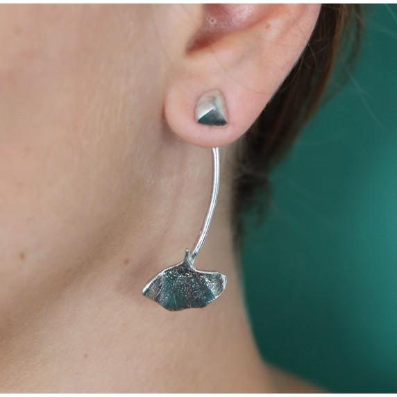 boucles oreilles gingko equitable