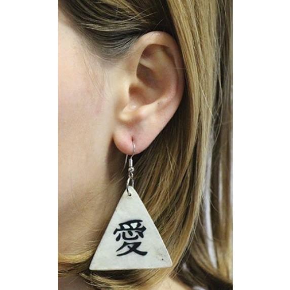 Boucles d'oreilles japonaises