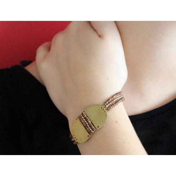 bracelet perles commerce equitable