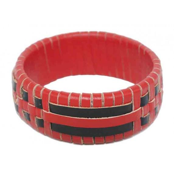 bracelet rouge equitable rotin