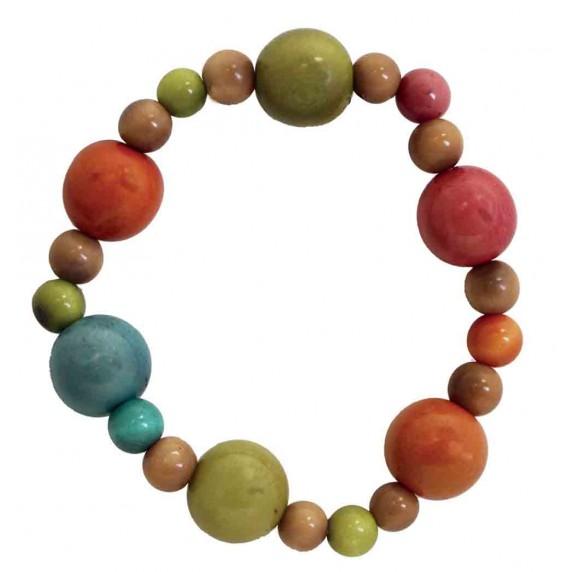 bracelet perles tagua equitable