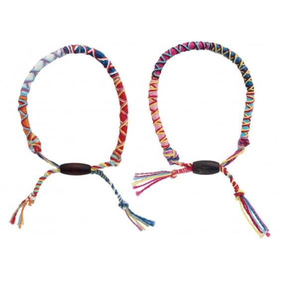 bracelet en coton égyptien