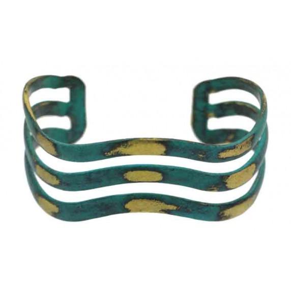 bracelet vert dore equitable