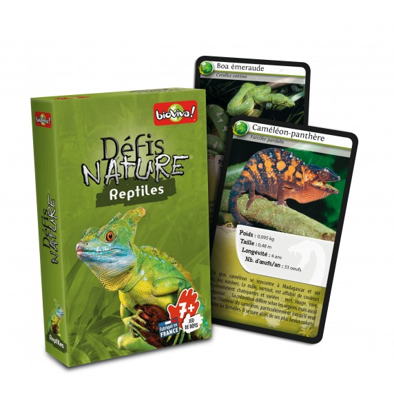 Jeu Bioviva Défis Nature - Reptiles