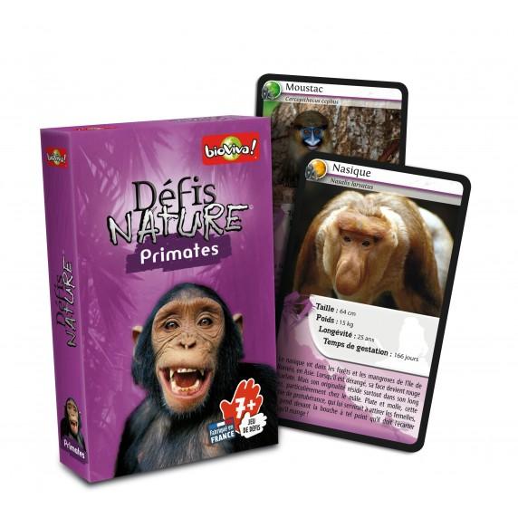 Jeu Bioviva Défis Nature - Primates
