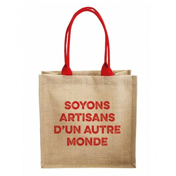 sac cabas artisans du monde jute