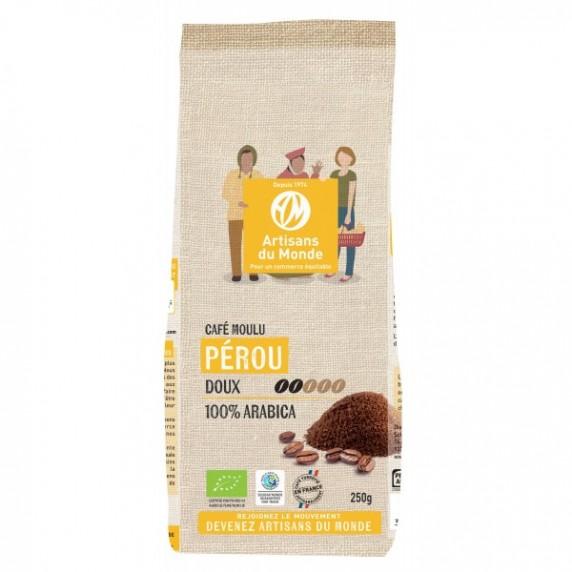 CAFE PEROU BIO MOULU 250G