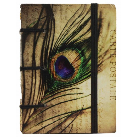 carnet paon plume equitable