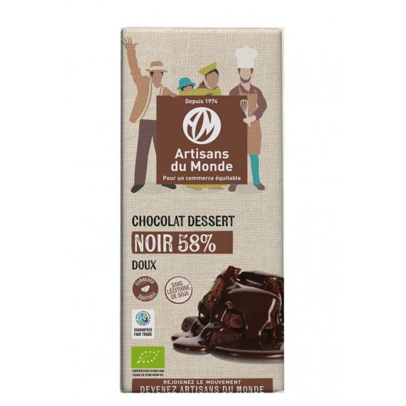 chocolat noir dessert bio equitable