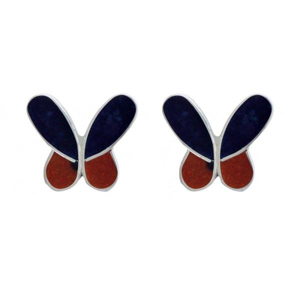 Boucles d'oreille Papillon