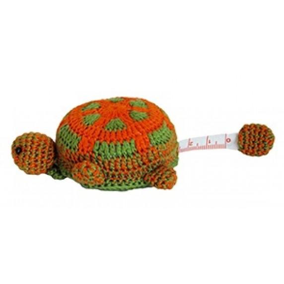Mètre ruban tortue