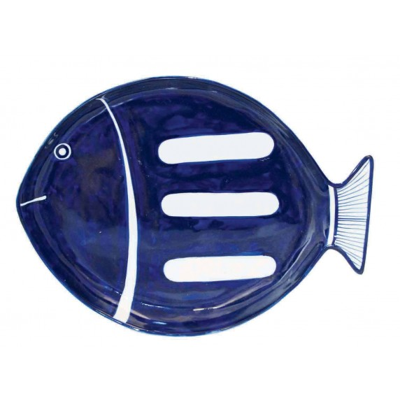 Plat poisson bleu commerce équitable