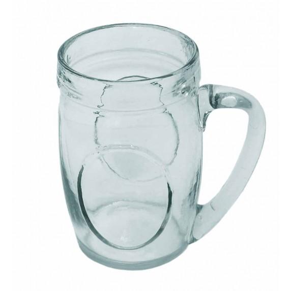 chope à bière verre recyclé equitable