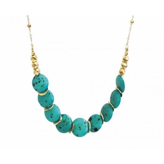 collier bleu equitable