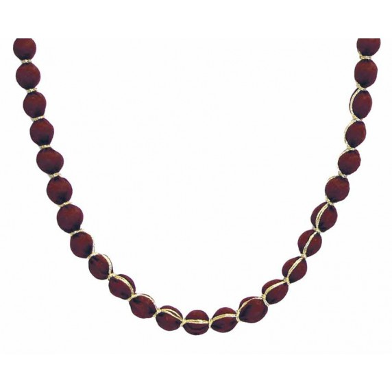 collier rouge recycle