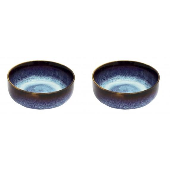 coupelle ceramique bleu