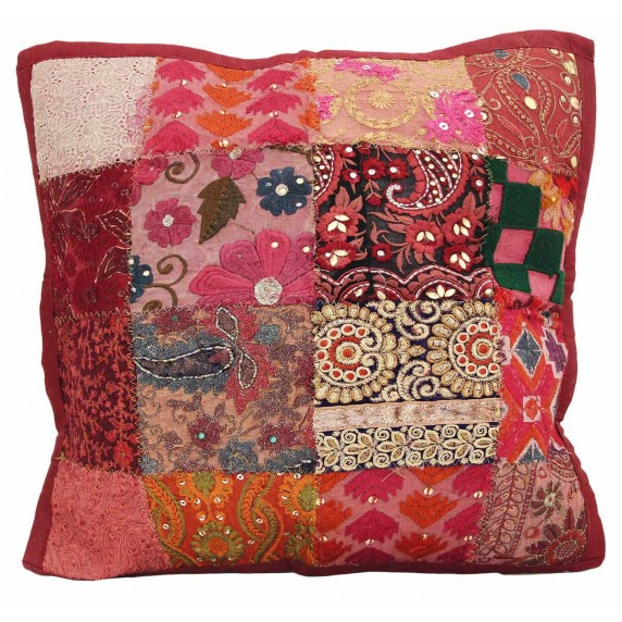 housse coussin recycle inde responsable