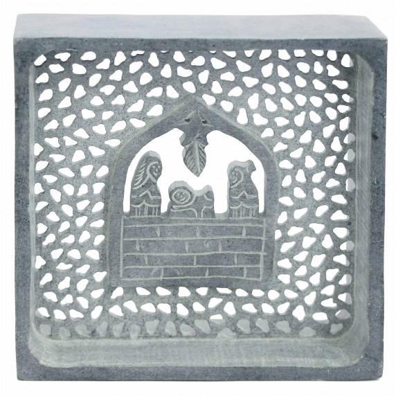 creche noel grise pierre savon equitable