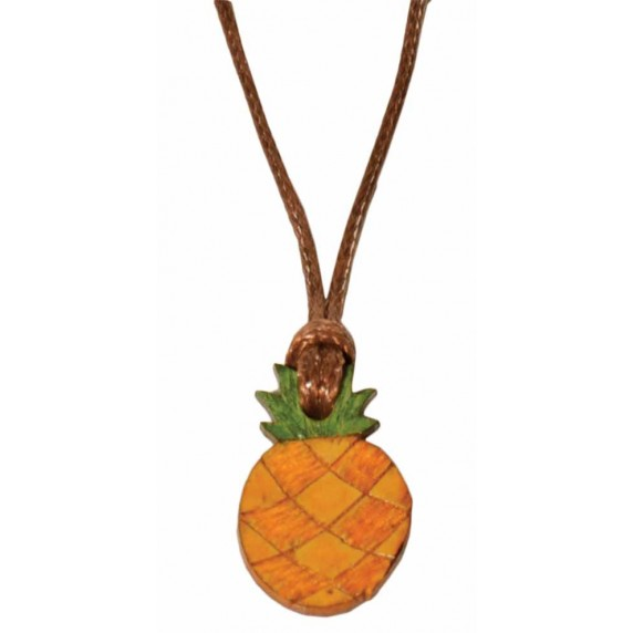 collier ananas equitable