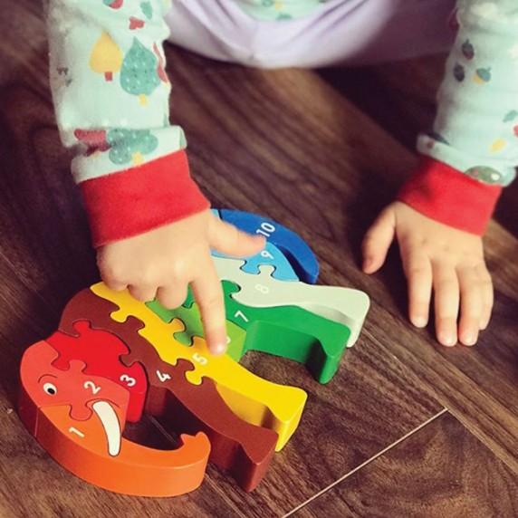 puzzle elephants