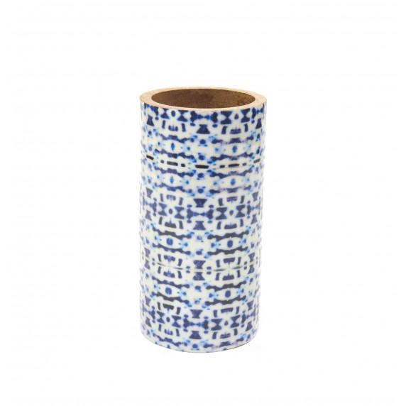 grand pot bois bleu equitable