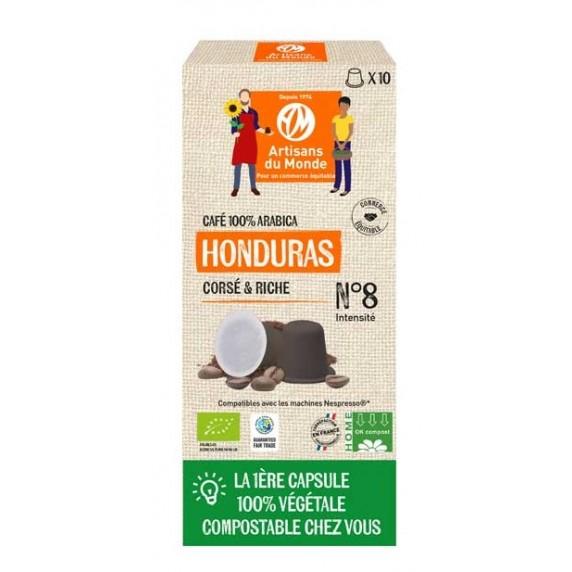 CAPSULES CAFE HONDURAS BIO 50G X10 CAPSULES