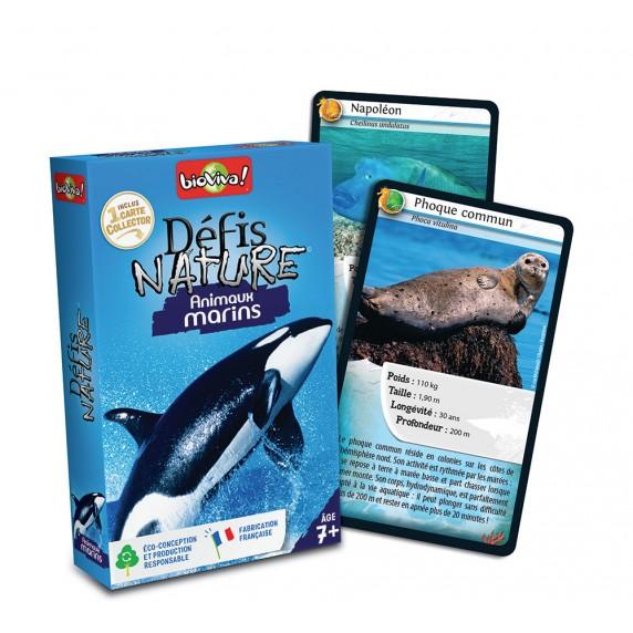 jeu bioviva animaux marins