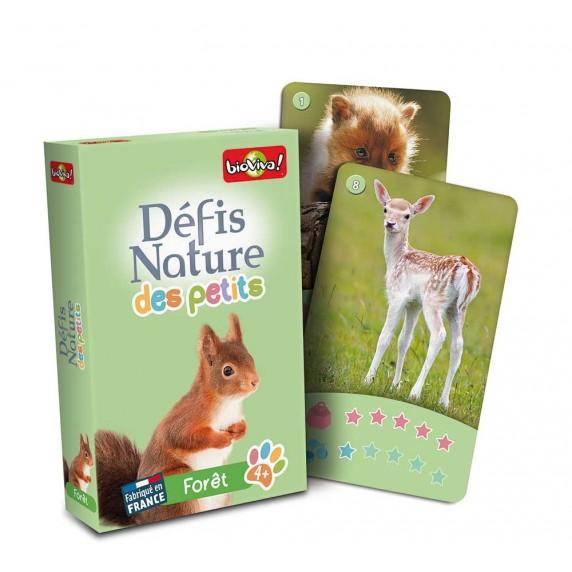 Défis Nature Animaux Foret France Jeu Bioviva