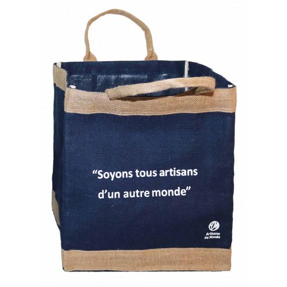 sac cabas equitable message