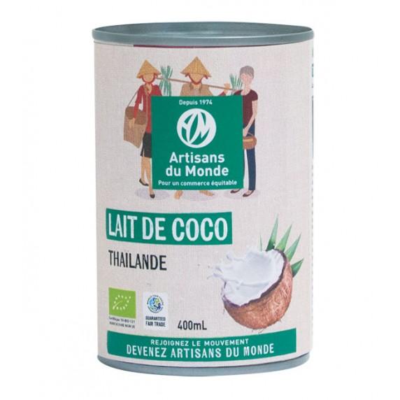 Lait de coco bio equitable