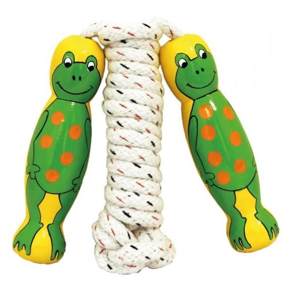 corde à sauter grenouille équitable