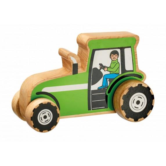 tracteur en bois equitable