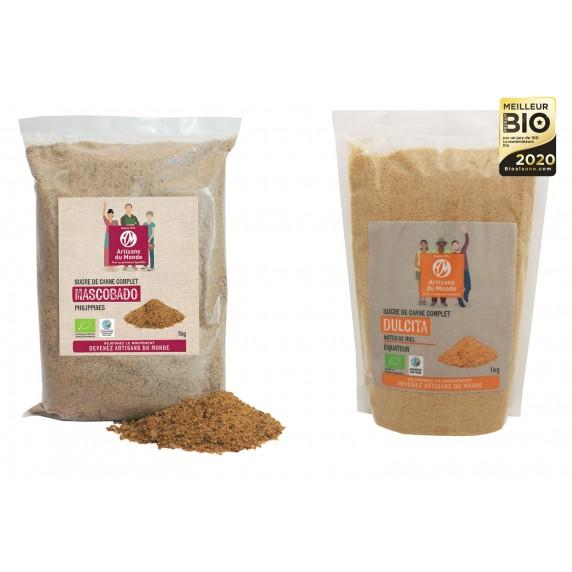 sucres bio equitable artisans du monde