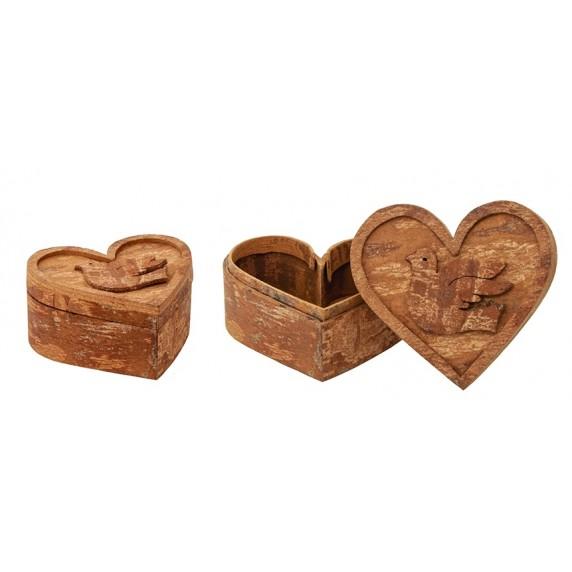 Boîtes canelle Coeur x2 - Vietnam