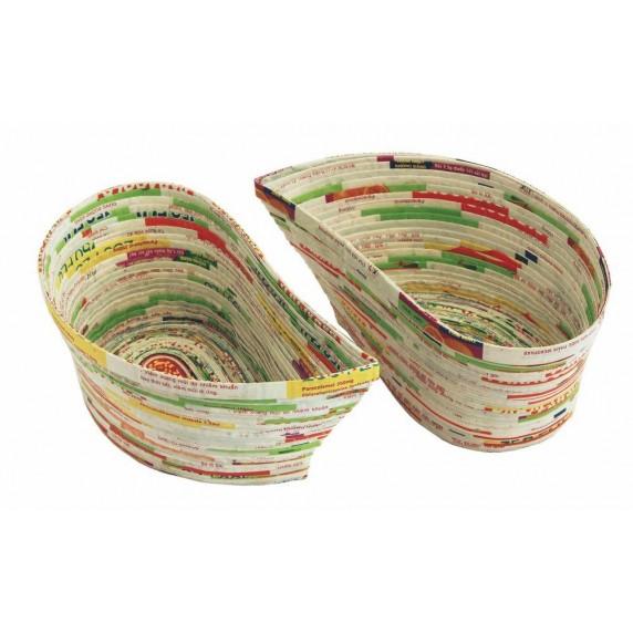 Corbeilles papier Yin Yang