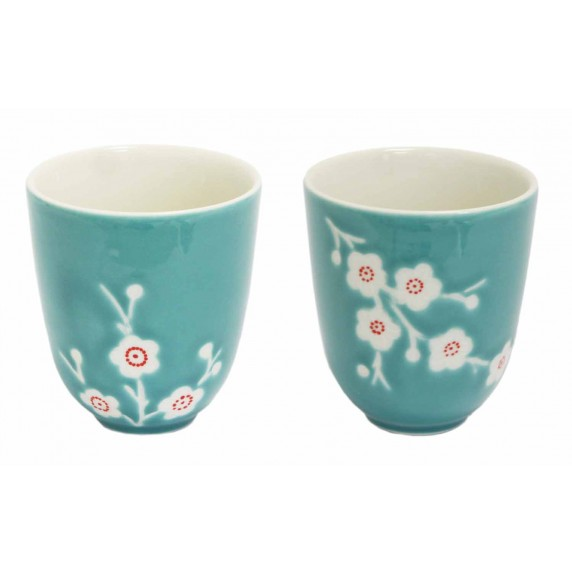 tasse thé equitable turquoise