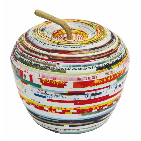 boite pomme recycle
