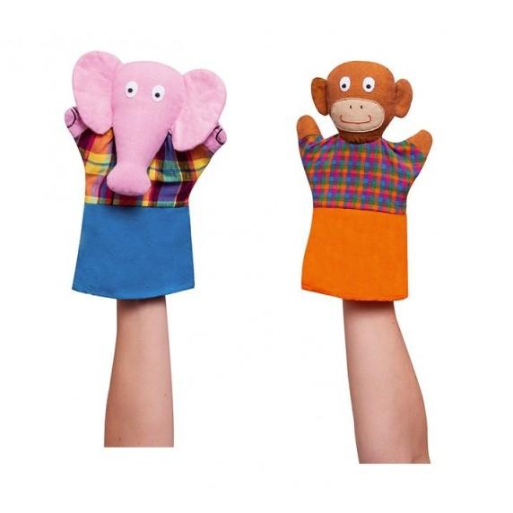 marionnettes singe elephant ethique