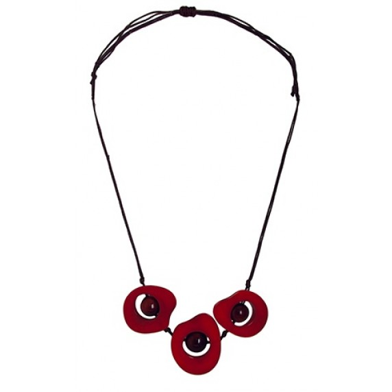 Collier Mayra en Tagua - Equateur