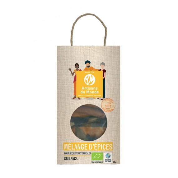 Mélange pour riz jaune bio 20g