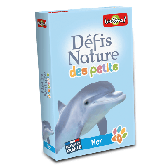 Jeu bioviva défis nature animaux marins
