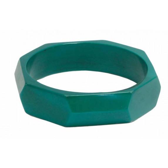 bracelet vert resine