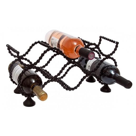 Porte-bouteilles Chaîne de vélo