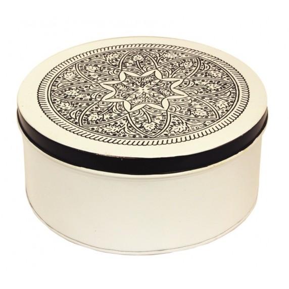 Boîte Mandala blanche