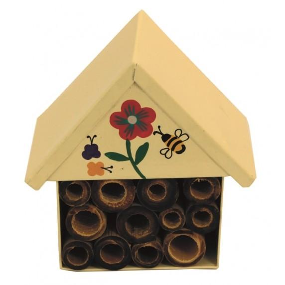 Hôtel à insectes Fleurs
