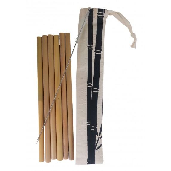 pailles bambou commerce equitable reutilisable